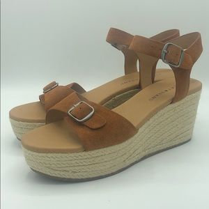Lucky Naveah Espadrille Wedge Sandal Size 10